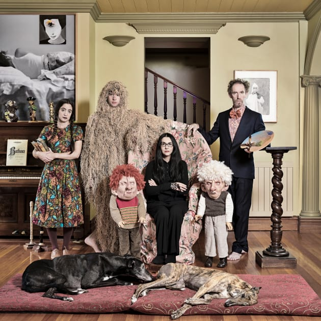 © Anne Zahalka ″The Papapetrou Family″.  Olive Cotton Award 2017. Tweed Regional Gallery Collection