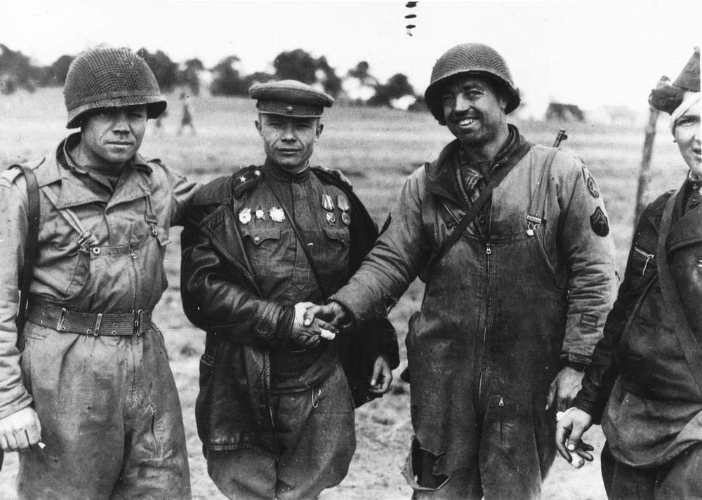 Встреча на Эльбе 1945 - федеральный портал История РФ