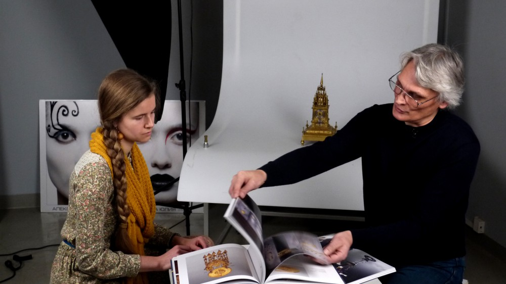 Интервью с Александром Кокшаровым, фотографом Государственного Эрмитажа
