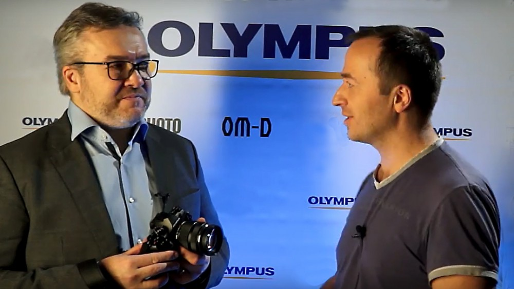 Olympus E-M1 mark II. Интервью с Павлом Гуровым