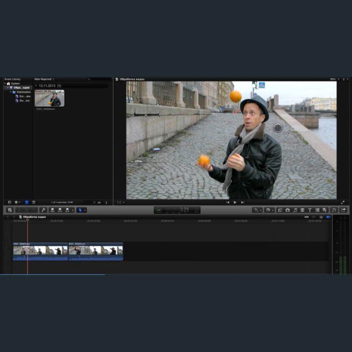 Видеосъемка, обработка видео, часть 2. Видеоурок