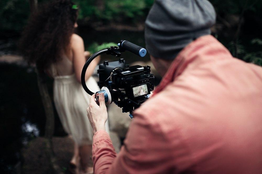 За кулисами. Портретная видеосъемка в лесу