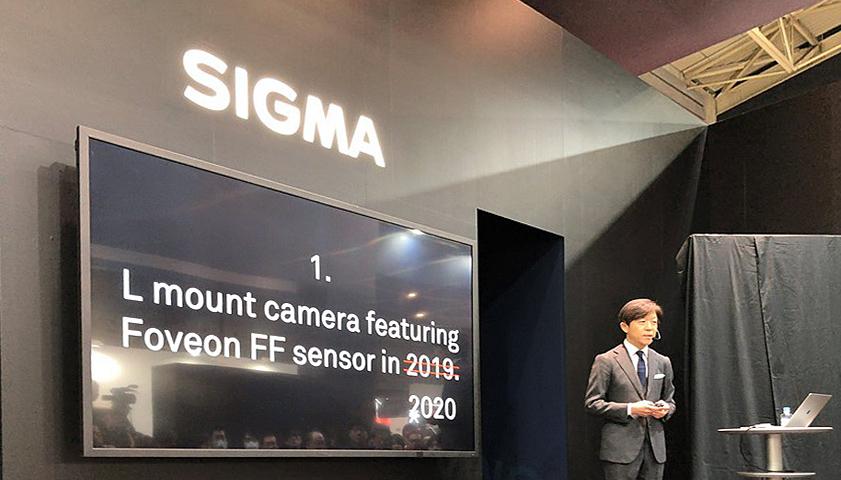 Появление полнокадровой Sigma с байонетом «L» откладывается до 2020 года