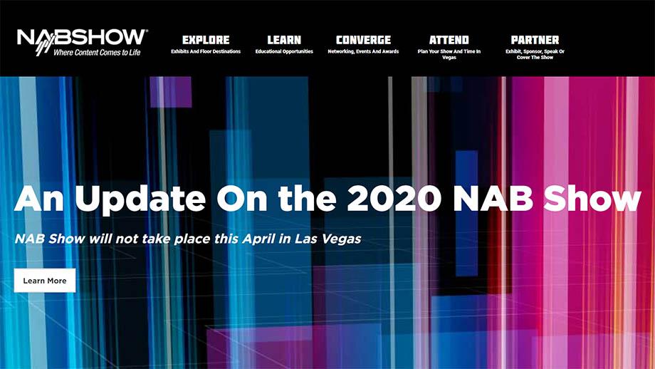 NAB Show в Лас-Вегасе отменили из-за коронавируса