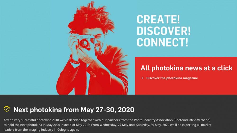 Выставки Photokina в 2019-м не будет
