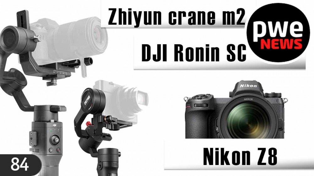 PWE News #84 | Nikon Z8 | Canon 90D | Слухи о Sony RX10 mark V