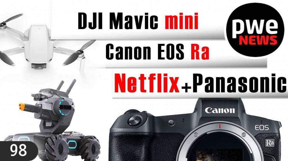 PWE News #98 | Самое мягкое боке от Canon | DJI Mavic Mini | MFT-портретник за 73$