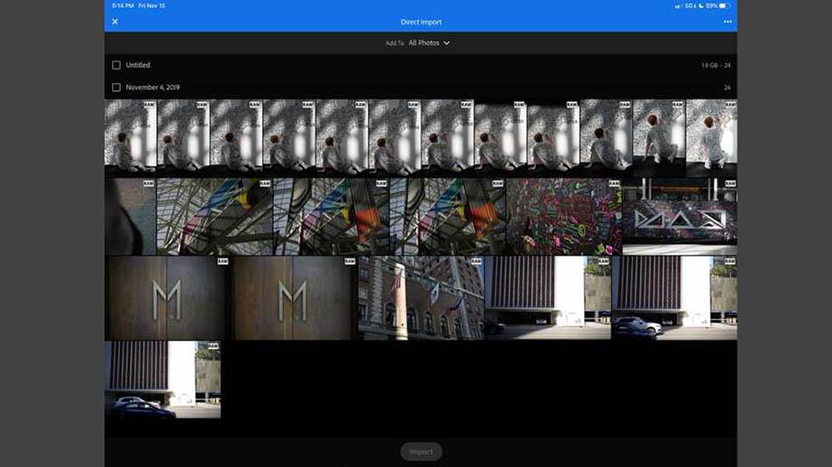 Декабрьские обновления Adobe Lightroom для iOS и iPadOS: импорт, экспорт и общие альбомы