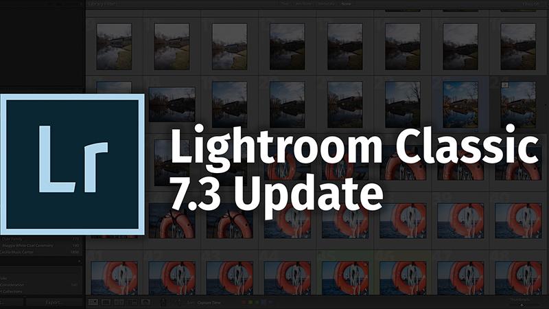 Вышло обновление Adobe Lightroom 7.3