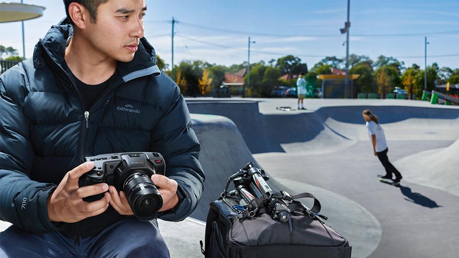 Вышло обновление прошивки Blackmagic Design Pocket Cinema Camera 4K (BMPCC 4K)