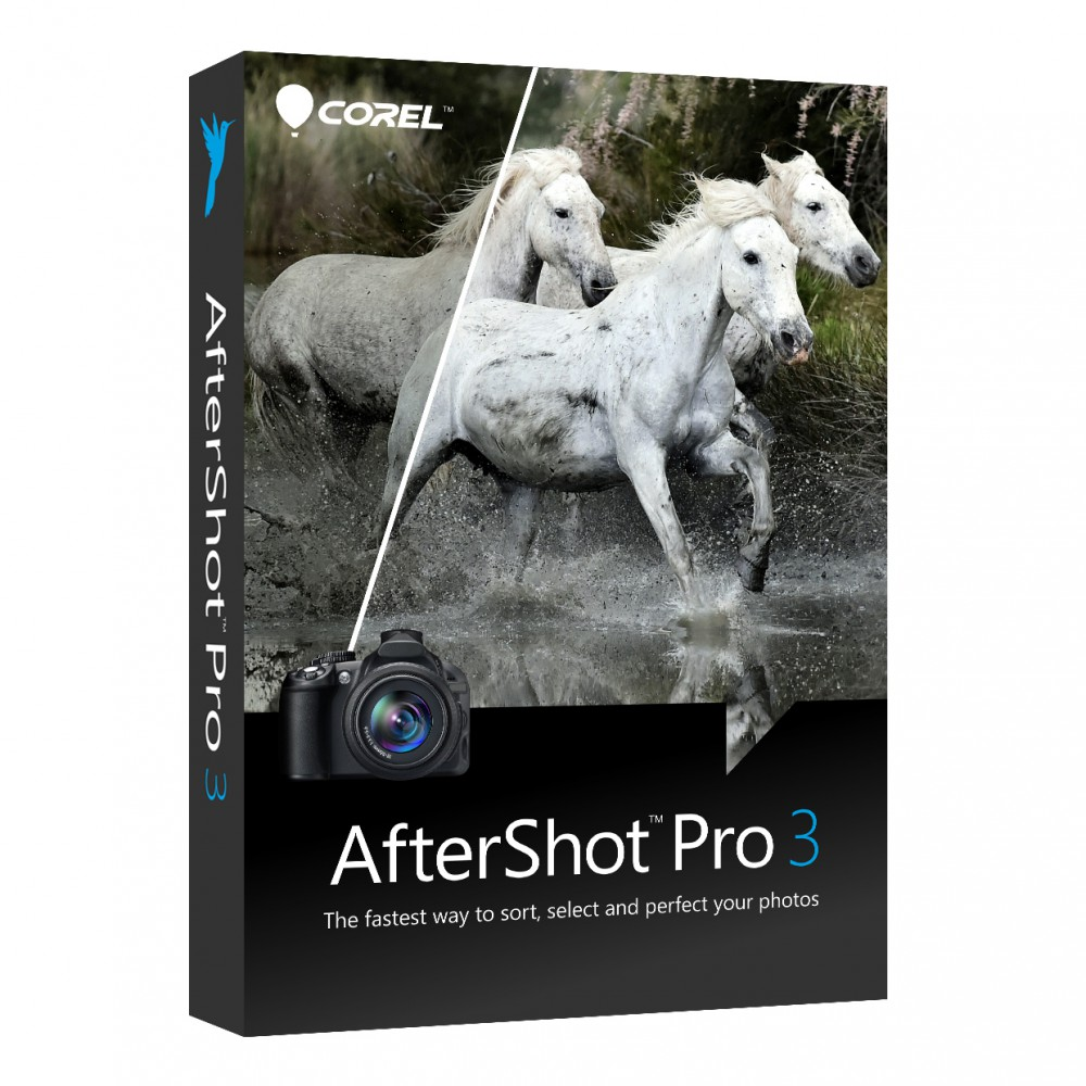 Corel AfterShot Pro 3 в 4 раза быстрее Lightroom