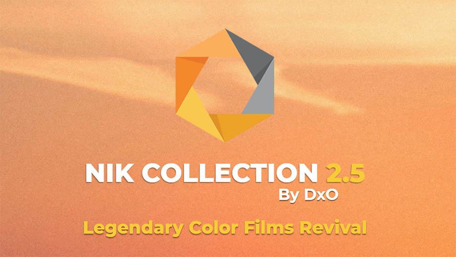 Комплект плагинов DxO Nik Collection обновлен до версии 2.5