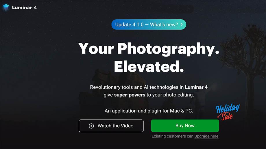 Skylum Luminar 4.1.0 легко заменит небо на фото