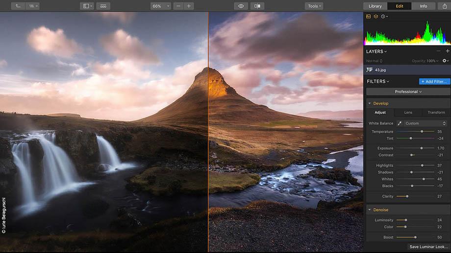 Skylum Luminar обновлен до версии 3.1.2