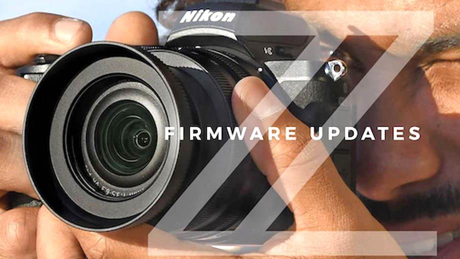 Обновление прошивок Nikon Z7, Z6 и Z50