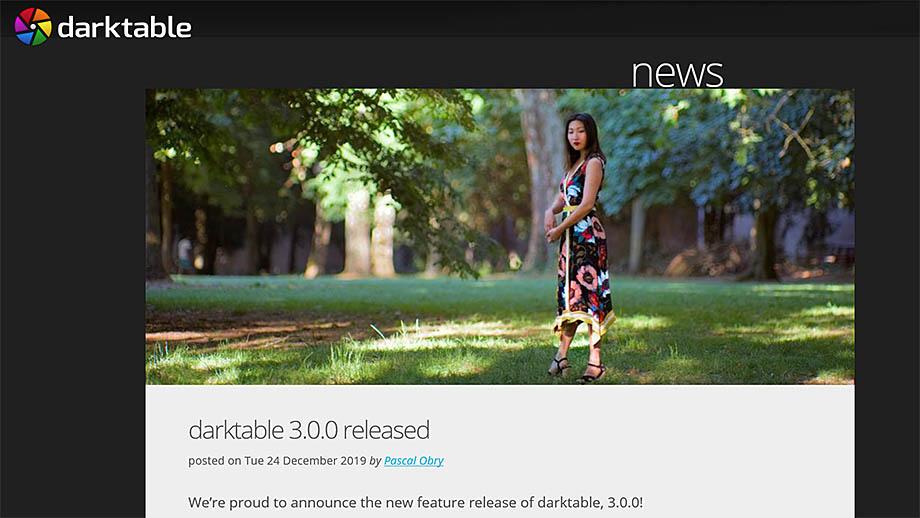 Встречаем RAW-конвертер darktable 3.0.0. Что нового?
