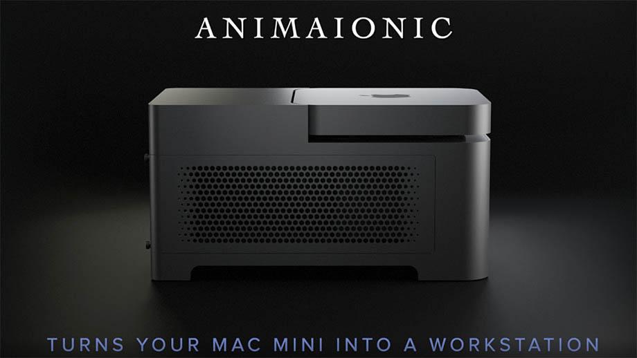 Док-станция Animaionic превратит Mac mini в профессиональную рабочую станцию