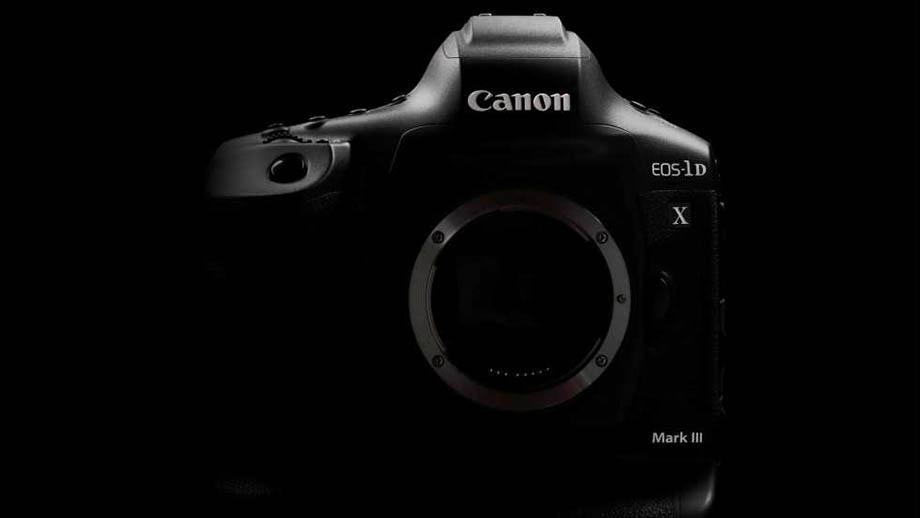 Canon 1DX mark III в разработке