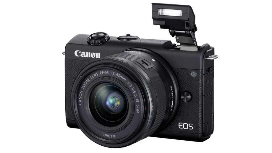 Canon EOS M200 получила автофокус по глазам и 4K видео