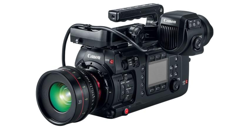 Canon представил новую камеру для кинопроизводства C700
