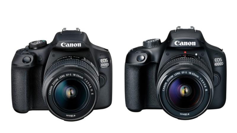 Canon доказывает, что все новое – это  плохо забытое старое: 2000D и 4000D