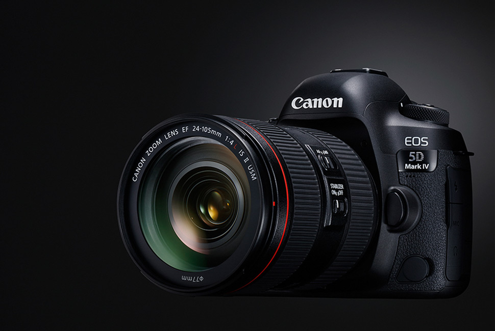 Canon 5D mark IV. Интерактивный тест