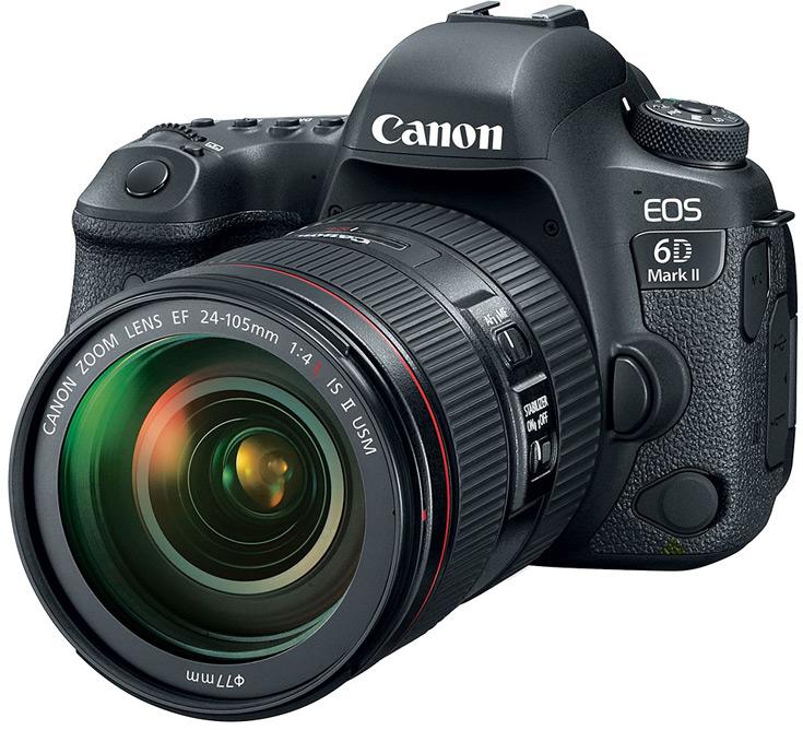 Canon представил 6D Mark II и 200D