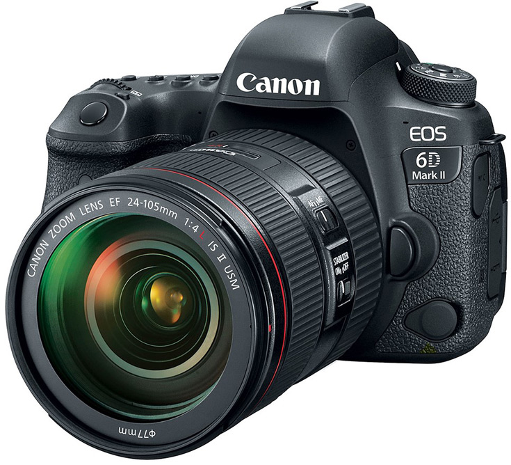 Canon анонсировал 6D Mark II и 200D