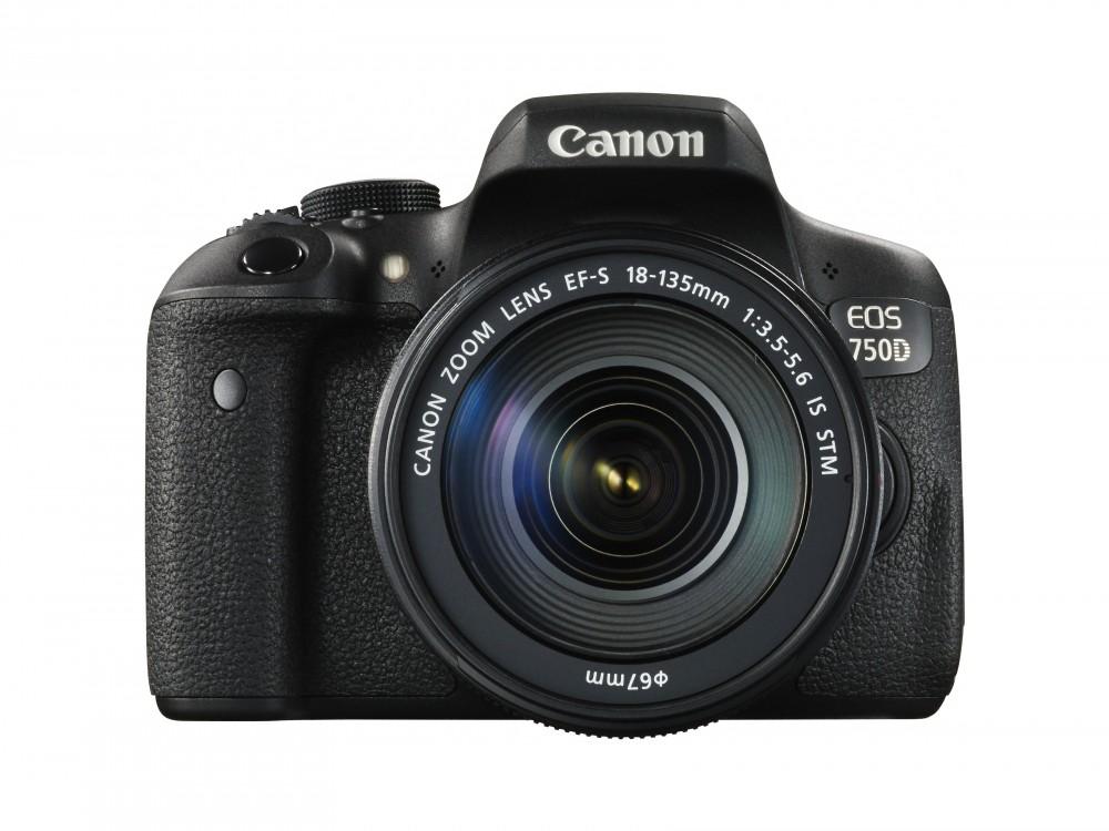 Canon 750D. Интерактивный тест