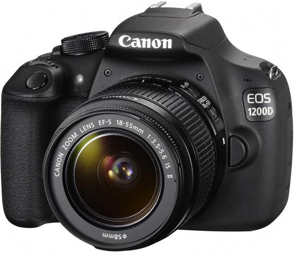 Тест Canon 1200D