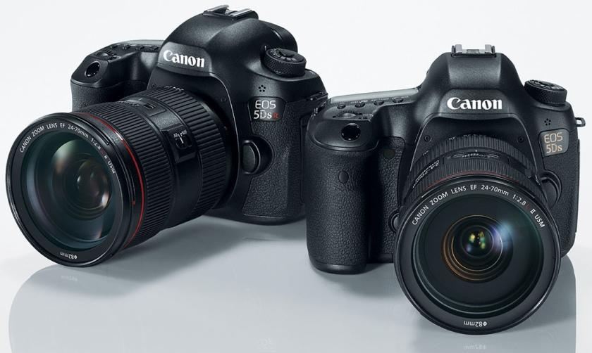 Canon выпустил 5Ds и 5DsR