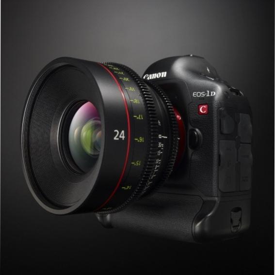 Компания Canon расширяет возможности камеры EOS-1D C