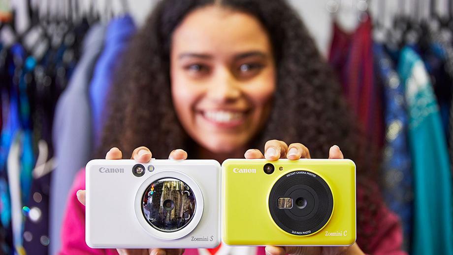 Анонсированы instant-камеры Canon Zoemini C и Canon Zoemini S