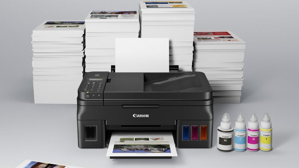 Canon анонсировал новую серию принтеров PIXMA G с СНПЧ