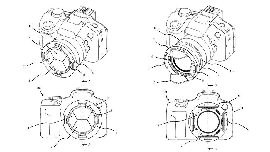 Canon, возможно, решил проблему потерянной крышки объектива