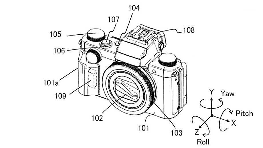 Canon патентует систему двойной стабилизации для EOS M и PowerShot