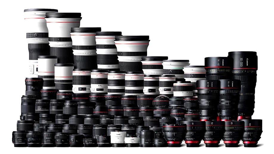 Canon запатентовал пять телеобъективов семейства EF