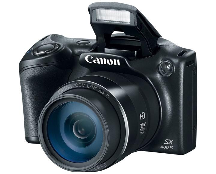 Canon представил суперзумы SX 400 IS и SX 520 HS