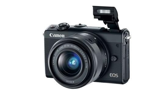Анонсирована беззеркальная камера Canon M100