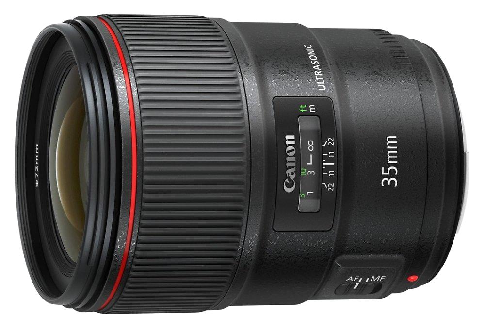 Canon анонсировал объектив EF 35mm f/1.4L II USM