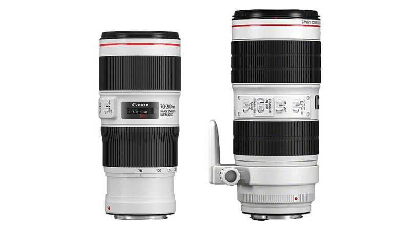 Canon обновила свой дуэт объективов 70-200 мм