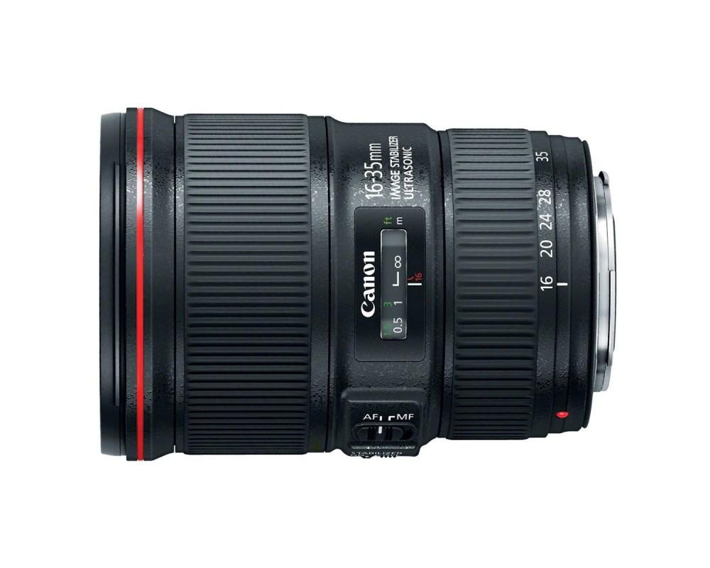 Тест объектива Canon EF 16-35/4L IS
