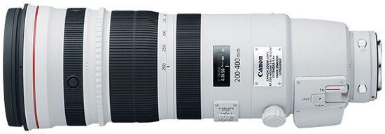 Canon EF 200-400mm f/4L со встроенным экстендером вскоре можно будет купить за 11800 долл