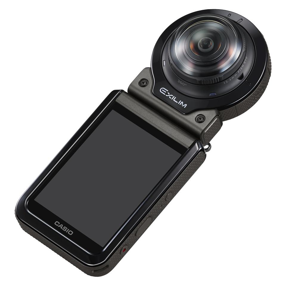 Casio представила экшен-камеру EX-FR200, которая умеет снимать сферические панорамы