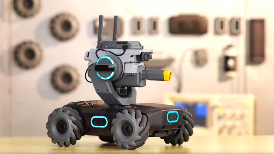 DJI RoboMaster S1 – робот-танк для съёмок на земле