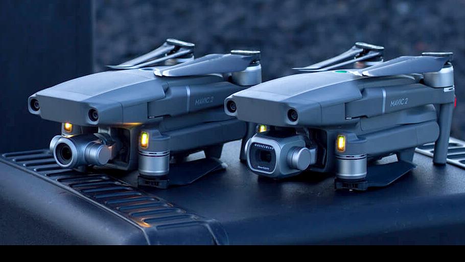 DJI Mavic 2 Pro и Zoom, дроны с камерой Hasselblad и оптическим зумом
