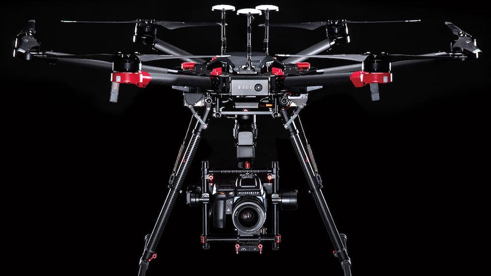 DJI + Hasselblad = Дрон DJI M600 Pro с камерой 100 МП