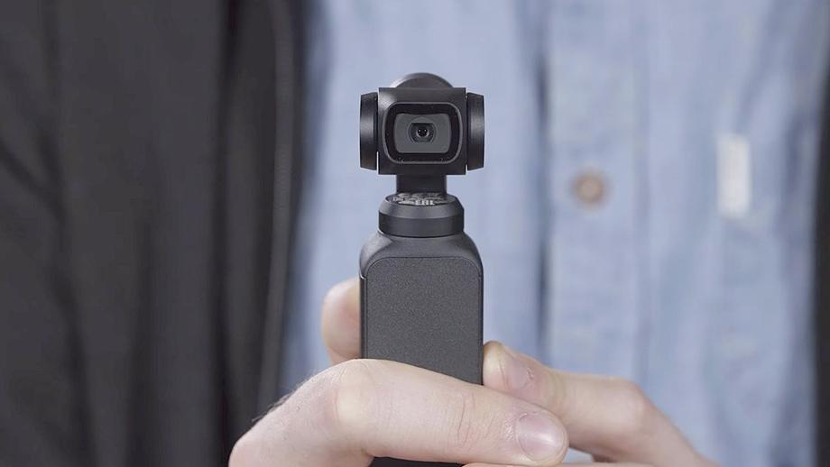 Камера DJI Osmo Pocket снимает 4К/60р со стабилизацией