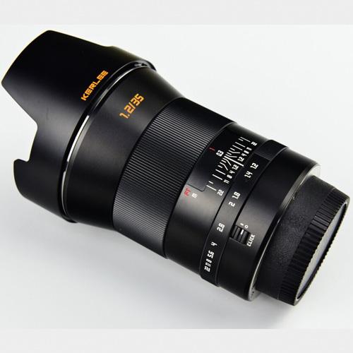 Анонсирован самый светосильный 35 мм объектив, DZOptics Kerlee 35/1.2