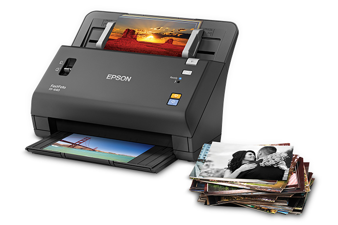 Epson FF-640 — самый быстрый фотосканер в мире.